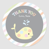 Baby Whale     Favor Sticker