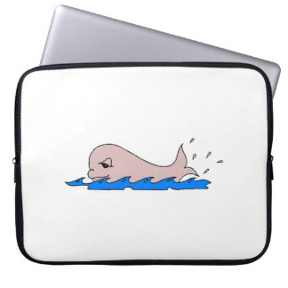 Baby Whale Computer Sleeves