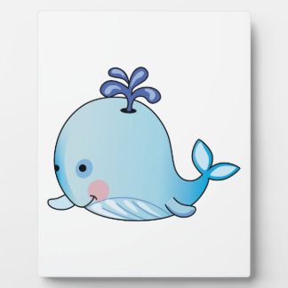 BABY WHALE DISPLAY PLAQUE