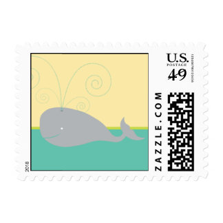 Baby Whale Stamp