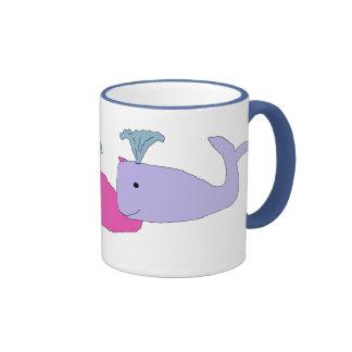Baby Whale Trio mug