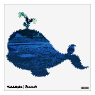 Baby Whale Wall Decal
