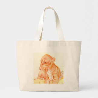 Baby Whippet - SUPER CUTE ! Canvas Bag