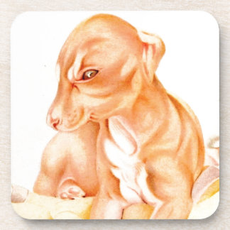 Baby Whippet - SUPER CUTE ! Coaster