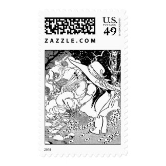 Baby Whirlwind Fairies Postage