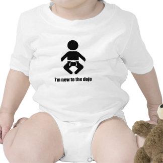 "Baby White Belt ""I'm new to the dojo"" Creeper"