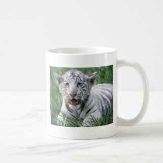 Baby White Tiger Coffee Mug