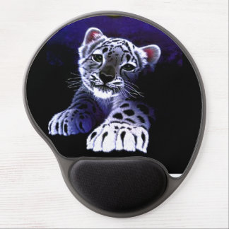 Baby White Tiger Gel Mouse Pad