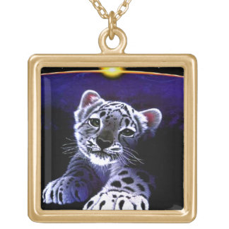 Baby White Tiger Necklace