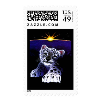 Baby White Tiger Postage