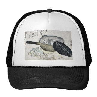 Baby whitefish by Ryuryukyo, Shinsai, Ukiyoe Trucker Hat