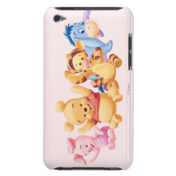 Case-Mate iPod Touch Barely There Case with Super Cute Baby Winnie the Pooh & Friends design