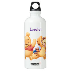 SIGG Traveller Water Bottle (0.6L) with Super Cute Baby Winnie the Pooh & Friends design