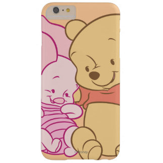 Baby Winnie the Pooh & Piglet Hugging Barely There iPhone 6 Plus Case