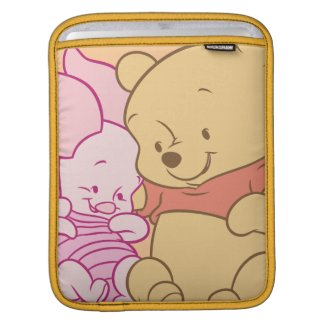Baby Winnie the Pooh & Piglet Hugging Sleeve For iPads