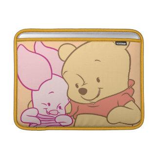 Baby Winnie the Pooh & Piglet Hugging MacBook Air Sleeve