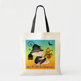 Baby Witch My 1st Halloween Bags