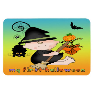 Baby Witch My 1st Halloween Flex Magnets