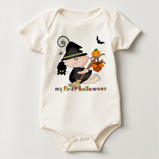 Baby Witch My 1st Halloween Infant Organic Creeper