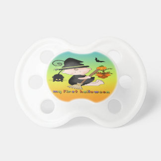 Baby Witch My 1st Halloween Pacifier BooginHead Pacifier