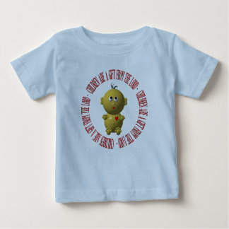 """Baby with """"Children are a gift from The Lord"""" Baby T-Shirt"""