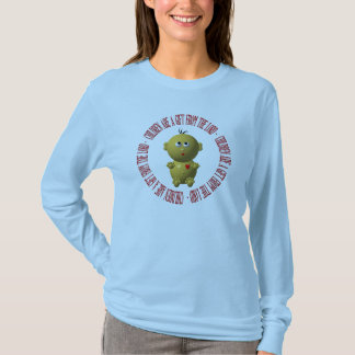 """Baby with """"Children are a gift from The Lord"""" T-Shirt"""