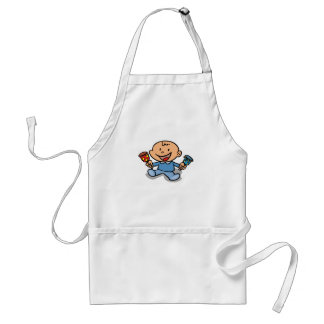 Baby With Rattles Aprons