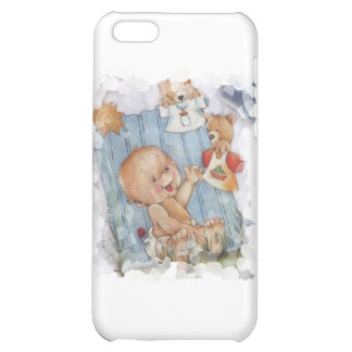 Baby with toys iPhone 5C covers