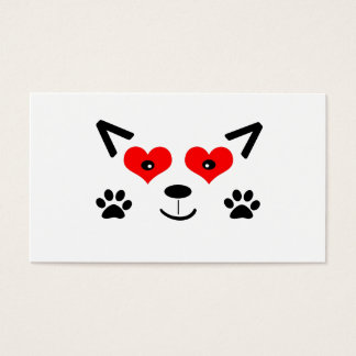Baby Wolf Business Card
