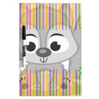 Baby Wolf Dry-Erase Board