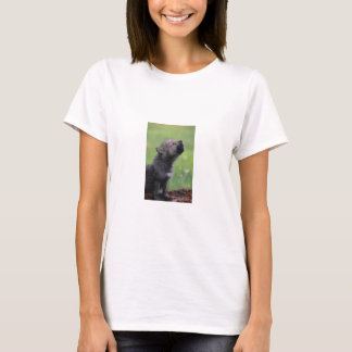 Baby Wolf Howls T-Shirt