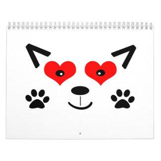 Baby Wolf Calendar
