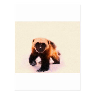 baby wolverine.jpg postcard