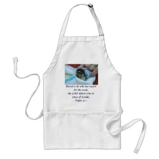 Baby Wood Duck Adult Apron