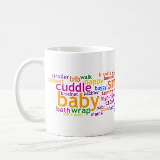Baby Wordle Classic White Coffee Mug