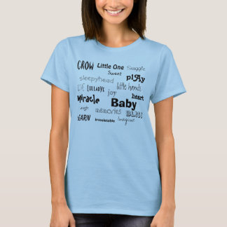 Baby words shirt