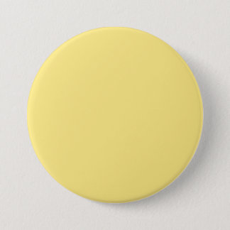 Baby Yellow Personalized Trend Color Background Pinback Button