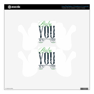 baby you are the one PS3 controller decals