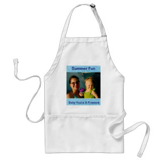 Baby You're A Firework Personalized Summer Fun Adult Apron