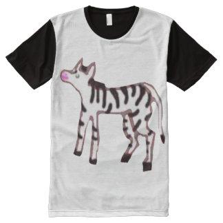 Baby Zebra All-Over Print T-shirt