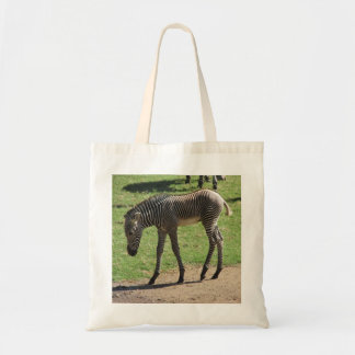 Baby Zebra Canvas Bag