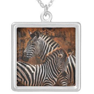 Baby zebra exclusive designer art necklaces