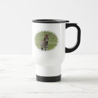Baby Zebra Plastic Travel Mug