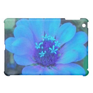 Baby Zinnia in Blue iPad case