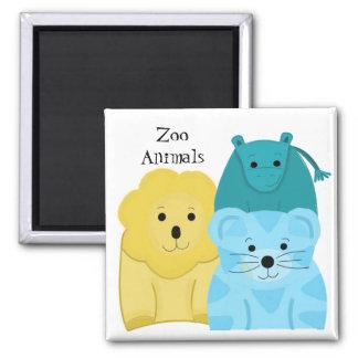 Baby Zoo Animals Magnet