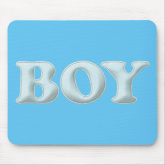 BABYBABY BOY BLUE BABY EXPECTING INFANT SHOWERS SP MOUSE PAD