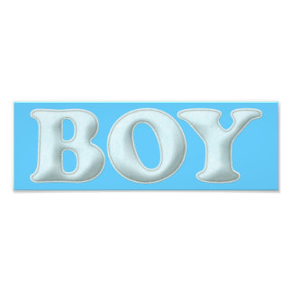 BABYBABY BOY BLUE BABY EXPECTING INFANT SHOWERS SP PHOTO PRINT