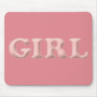 BABYBABY GIRL PINK BABY EXPECTING INFANT SHOWERS S MOUSE PAD