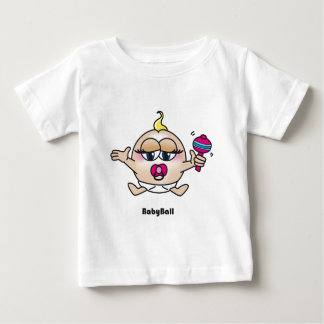 BabyBall PNG Baby T-Shirt
