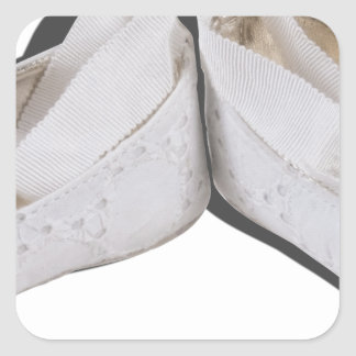 BabyBallerinaShoes103013.png Square Sticker